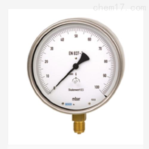 测试型压力表 低压测试 量程0...1kPa