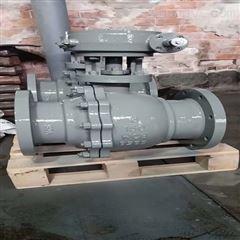 Q341H-150LB-200涡轮碳钢硬密封球阀