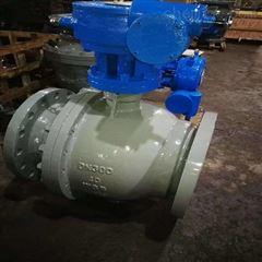 Q347F-40c-300涡轮碳钢固定式球阀