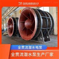河道排灌用600QGWZ全贯流潜水电泵价格参数