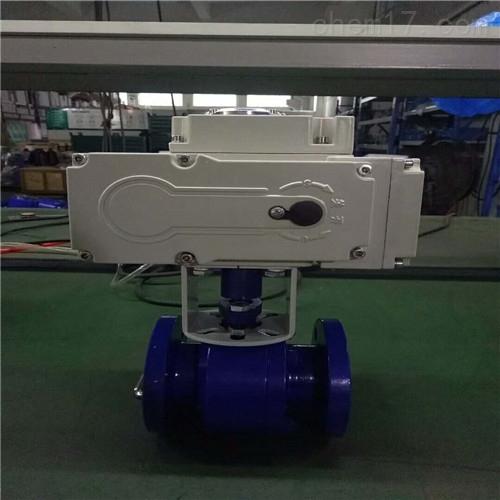 瓯北Q941F/Q941Y型电动球阀厂家