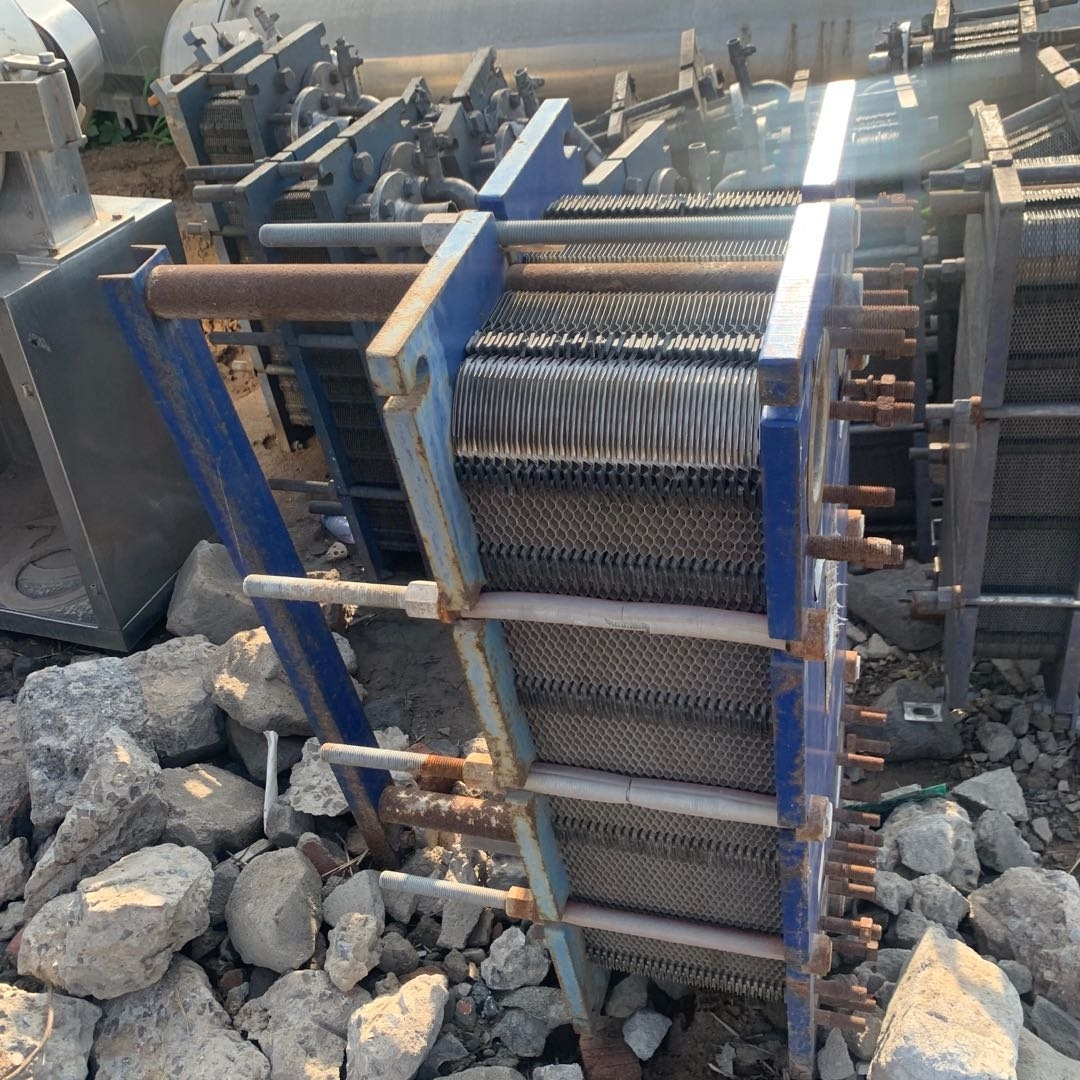 长期回收二手不锈钢板式换热器