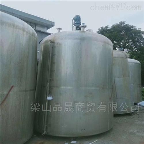 销售二手30吨不锈钢搅拌罐