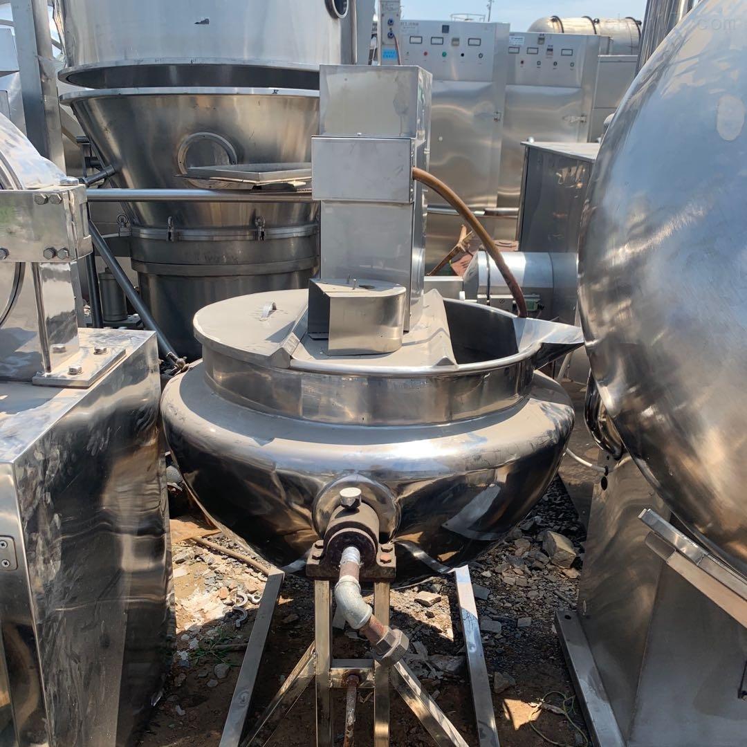 二手300升 蒸汽加热夹层锅