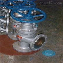 厂家U44S不锈钢角式柱塞阀直销