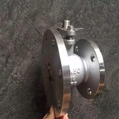 FQ41F-16P-50不锈钢放料球阀