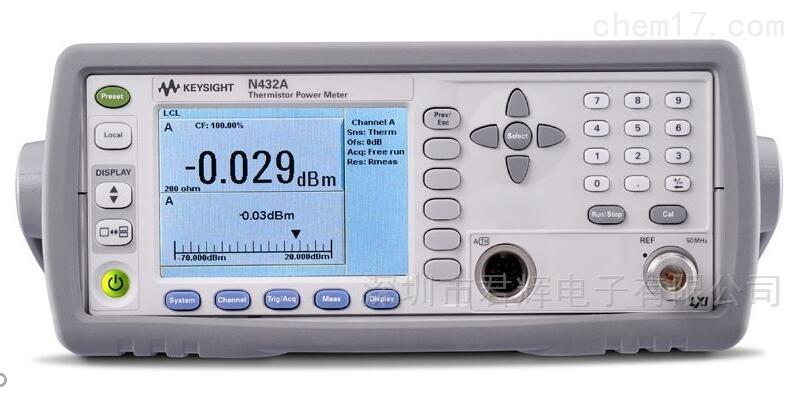 是德N432A热敏电阻功率计