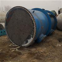 供应钛材列管式冷凝器 550平方换热器