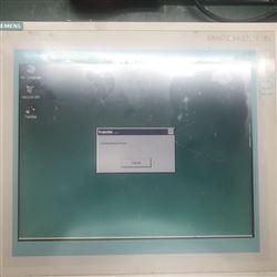 西门子KTP900显示不清楚维修