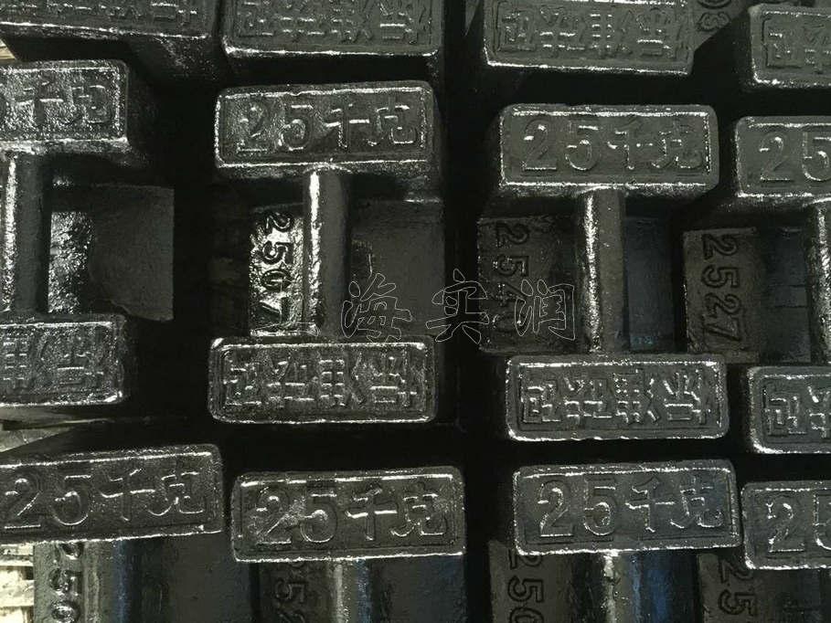 上海厂家20公斤配重砝码