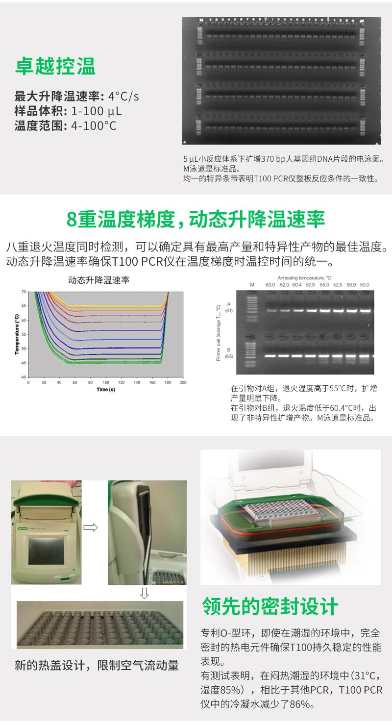 <strong><strong><strong><strong><strong><strong><strong><strong>Bio-Rad伯乐梯度PCR仪</strong></strong></strong></strong></strong></strong></strong></strong>功能介绍