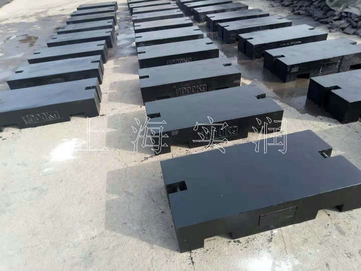 铸铁1000公斤砝码