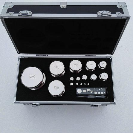 20公斤钢制镀铬标准砝码