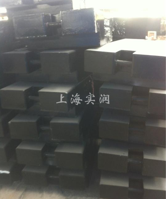 上海港1吨标准砝码出口