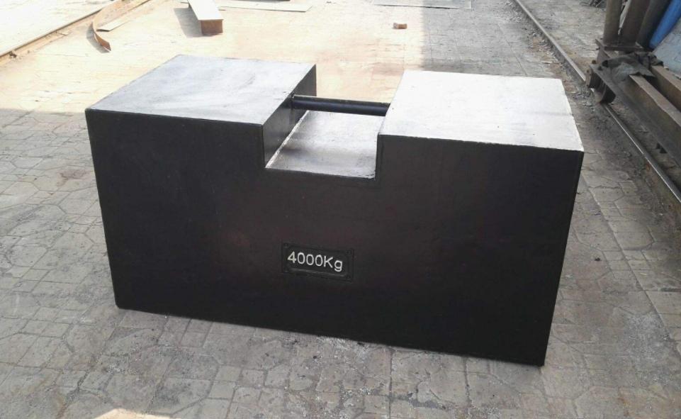 4000公斤砝码