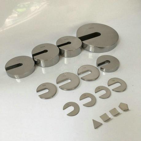 M1级不锈钢标准增砣砝码