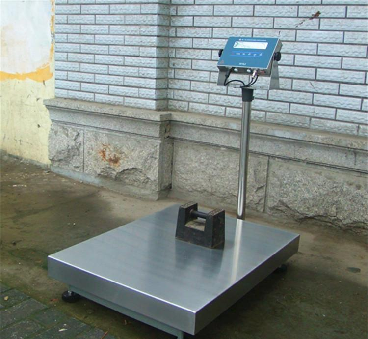 <strong>全不锈钢工业级防水设计电子台秤200kg</strong>