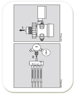 压缩空气检测仪减压阀