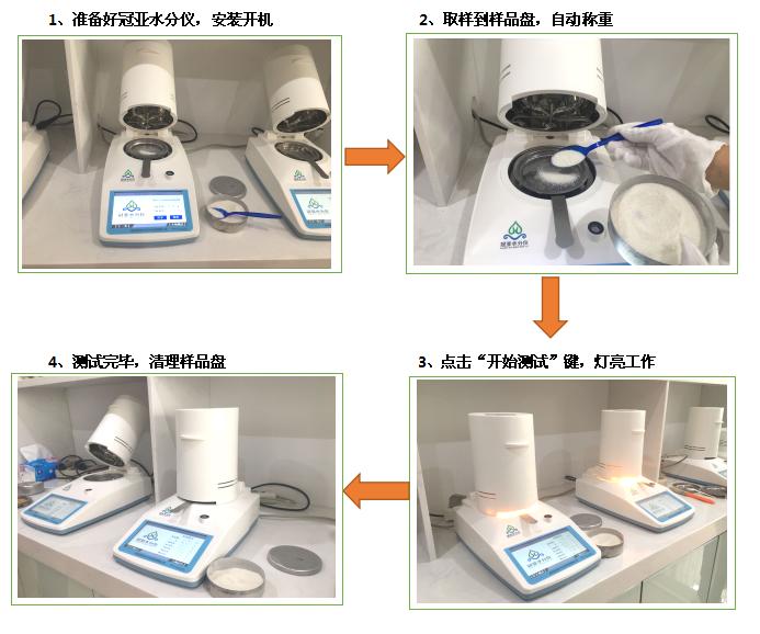 三元材料卤素水分测定仪