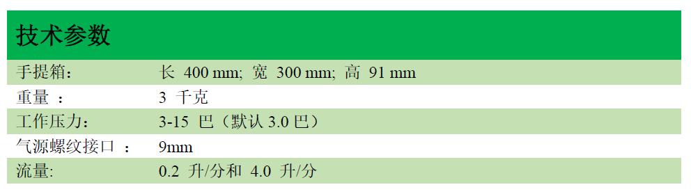 Multitest medical Int.医用多种气体检测仪技术参数