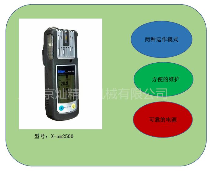 X-am2500气体检测仪