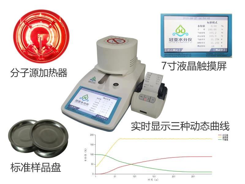 脱硫石膏粉结晶水分析仪