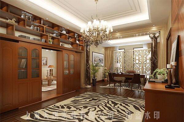 别墅密室暗门设计