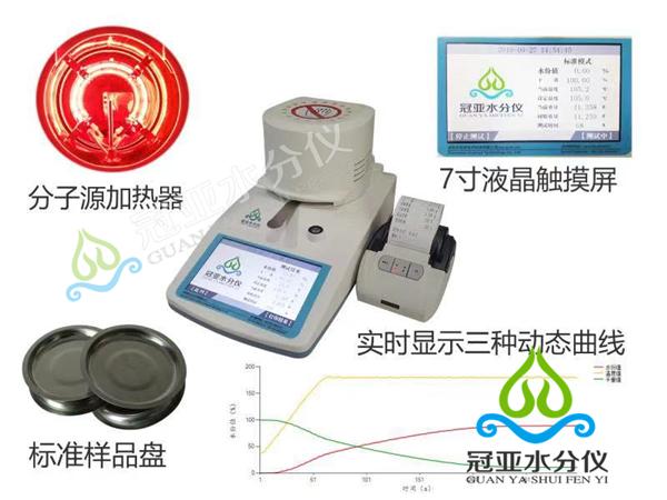 红外线填充母料水分仪